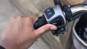 Το ποδήλατο μορίων χεριών Στοκ φωτογραφία με δικαίωμα ελεύθερης χρήσης