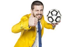 Το ποδόσφαιρο είναι διασκέδαση Στοκ φωτογραφία με δικαίωμα ελεύθερης χρήσης