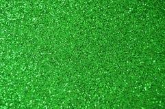 Το πράσινο σπινθήρισμα ακτινοβολεί υπόβαθρο Διακοπές, Χριστούγεννα, βαλεντίνοι, ομορφιά και αφηρημένη σύσταση καρφιών στοκ εικόνες