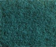 Το πράσινο σφουγγάρι τρίβει τη σύσταση Στοκ Εικόνες