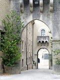 Το προαύλιο του φρουρίου στη Δημοκρατία Sain Marino, αυτό στοκ φωτογραφίες με δικαίωμα ελεύθερης χρήσης