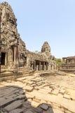 Το προαύλιο σε Prasat Bayon, Angkor Thom, Siem συγκεντρώνει, Καμπότζη Στοκ Εικόνες