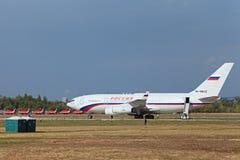 Το προεδρικό αεροπλάνο Στοκ εικόνα με δικαίωμα ελεύθερης χρήσης