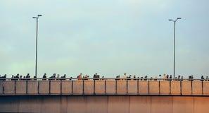 Το πρωί του Λονδίνου ανταλάσσει Στοκ Εικόνες