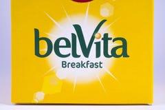 Το πρόγευμα Belvita ψήνει Στοκ εικόνες με δικαίωμα ελεύθερης χρήσης