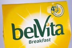 Το πρόγευμα Belvita ψήνει Στοκ εικόνα με δικαίωμα ελεύθερης χρήσης
