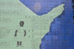 Το πρόγραμμα εκθέτει τα ανθρώπινα δικαιώματα και τη λυπημένη βραζιλιάνα κληρονομιά της σκλαβιάς Στοκ Εικόνα