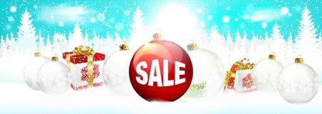 το πρόσθετο έμβλημα είναι μπορεί αλλαγμένος να σχηματοποιήσει την πώληση Διάνυσμα πώλησης Χριστουγέννων το πρόσθετο έμβλημα είναι απεικόνιση αποθεμάτων