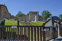 Το πρόσφατο φρούριο αρχαιότητας επικρατεί πόλη ή Stari Μαλί του Μαλί grad Στοκ Φωτογραφίες