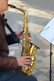Saxophone Στοκ Εικόνα