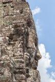Το πρόσωπο πετρών Bayon σε Angkor Wat, Siem συγκεντρώνει, Καμπότζη Στοκ εικόνα με δικαίωμα ελεύθερης χρήσης