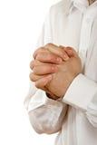 το πρόσωπο προσεύχεται στοκ εικόνες με δικαίωμα ελεύθερης χρήσης