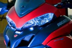 Το πρόσωπο Ducati Ινδία Στοκ Εικόνες