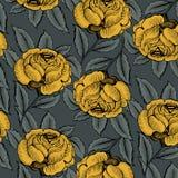 το πρότυπο λουλουδιών &alpha Στοκ Εικόνες