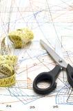 το πρότυπο ράβει Στοκ φωτογραφία με δικαίωμα ελεύθερης χρήσης