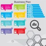Το πρότυπο σχεδίου Infographic μπορεί να χρησιμοποιηθεί για το σχεδιάγραμμα ροής της δουλειάς, διάγραμμα, επιλογές αριθμού, σχέδι Στοκ εικόνες με δικαίωμα ελεύθερης χρήσης