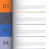 Το πρότυπο σύγχρονου σχεδίου/μπορεί να χρησιμοποιηθεί για το infographics Στοκ φωτογραφίες με δικαίωμα ελεύθερης χρήσης