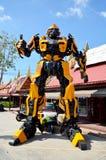 Το πρότυπο του ρομπότ για παρουσιάζει Στοκ Φωτογραφία