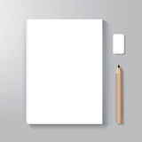 Το πρότυπο ύφους σχεδίου κάλυψης βιβλίων/μπορεί να χρησιμοποιηθεί για την κάλυψη EBook Στοκ φωτογραφία με δικαίωμα ελεύθερης χρήσης