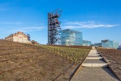 Το πρώην ανθρακωρυχείο Katowice Στοκ Φωτογραφία
