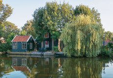 Το πρώην ψαροχώρι Haaldersbroek Στοκ εικόνες με δικαίωμα ελεύθερης χρήσης