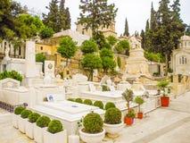 Το πρώτο αθηναϊκό νεκροταφείο στοκ εικόνες