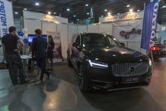 Το πρώτο διεθνές εμπόριο παρουσιάζει των ηλεκτρικών οχημάτων βυσματωτή Ουκρανία στο Κίεβο στοκ εικόνα με δικαίωμα ελεύθερης χρήσης