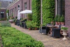 Το πτωχοκομείο ο πράσινος κήπος στο παλαιό κέντρο του Χάρλεμ στοκ φωτογραφίες