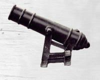 το πυροβόλο απομόνωσε π&alpha Στοκ εικόνα με δικαίωμα ελεύθερης χρήσης