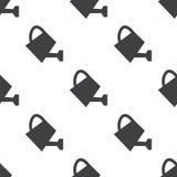 Το πότισμα μπορεί, διανυσματικό άνευ ραφής σχέδιο Στοκ φωτογραφίες με δικαίωμα ελεύθερης χρήσης