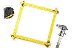 Μηχανική-το πλαίσιο Στοκ Εικόνα