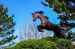 Το πλαστό άλογο στοκ φωτογραφίες