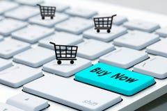 Το πληκτρολόγιο αγοράζει τώρα το εικονίδιο Στοκ Φωτογραφίες