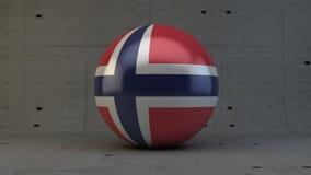 Το πληκτρολόγιο σημαιών της Νορβηγίας εισάγει το κουμπί Στοκ φωτογραφίες με δικαίωμα ελεύθερης χρήσης
