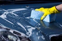 Το πλύσιμο αυτοκινήτων στοκ εικόνες