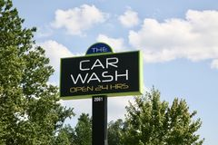 Το πλύσιμο αυτοκινήτων Στοκ εικόνες με δικαίωμα ελεύθερης χρήσης