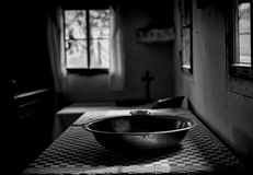 Το πλύσιμο και προσεύχεται Στοκ εικόνα με δικαίωμα ελεύθερης χρήσης