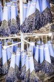 Το ράφι με ξηρό lavender Στοκ φωτογραφία με δικαίωμα ελεύθερης χρήσης