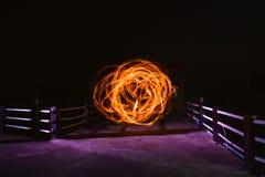 Το ραβδί πυρκαγιάς παρουσιάζει Στοκ φωτογραφίες με δικαίωμα ελεύθερης χρήσης