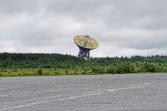 Το ραδιο τηλεσκόπιο rt-64 στο ραδιο παρατηρητήριο αστρονομίας Στοκ εικόνα με δικαίωμα ελεύθερης χρήσης