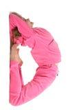 το ροζ επιστολών κοριτσ& Στοκ φωτογραφίες με δικαίωμα ελεύθερης χρήσης