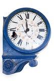 το ρολόι έβλαψε παλαιό αναδρομικό Στοκ φωτογραφίες με δικαίωμα ελεύθερης χρήσης