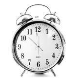 Το ρολόι σημειώνει Στοκ Φωτογραφίες