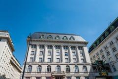 Το ρολόι Ankeruhr στη Βιέννη Στοκ φωτογραφία με δικαίωμα ελεύθερης χρήσης