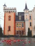 Το ρομαντικό Castle στοκ εικόνα