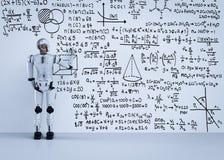 Το ρομπότ λύνει το πρόβλημα ελεύθερη απεικόνιση δικαιώματος