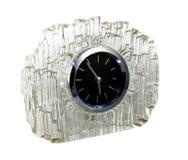 Ρολόι στο κρύσταλλο Στοκ φωτογραφία με δικαίωμα ελεύθερης χρήσης