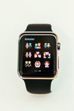 Το ρολόι της Apple αρχίζει παγκοσμίως Στοκ Φωτογραφία