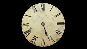 Το ρολόι τινάζει με την ταχύτητα αφηρημένο ανάλογο που είναι ρολογιών μισός διαστημικός χρόνος σκιάς απεικόνισης μεγάλος Θεωρία τ απόθεμα βίντεο