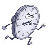 Το ρολόι τρέχει ελεύθερη απεικόνιση δικαιώματος